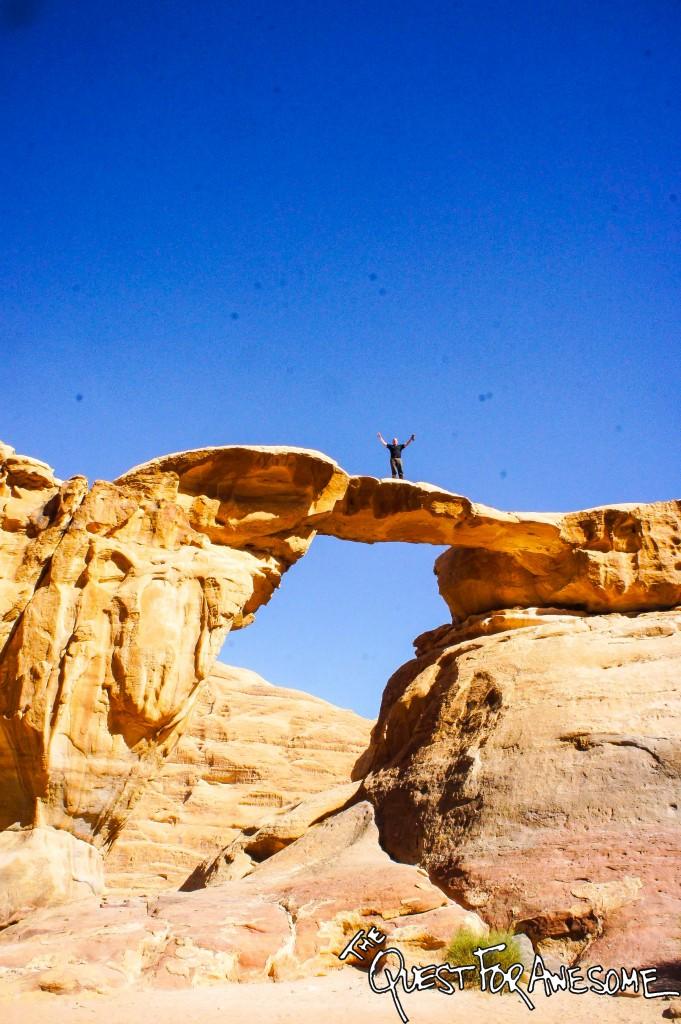 Wadi Rum - Large Arch