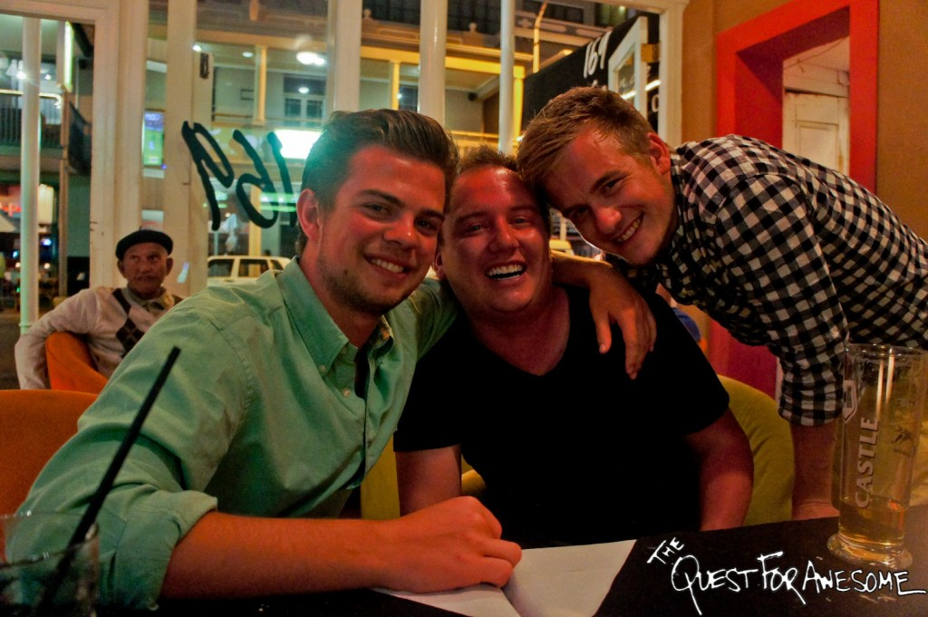 Farewell Dinner in Cape Town