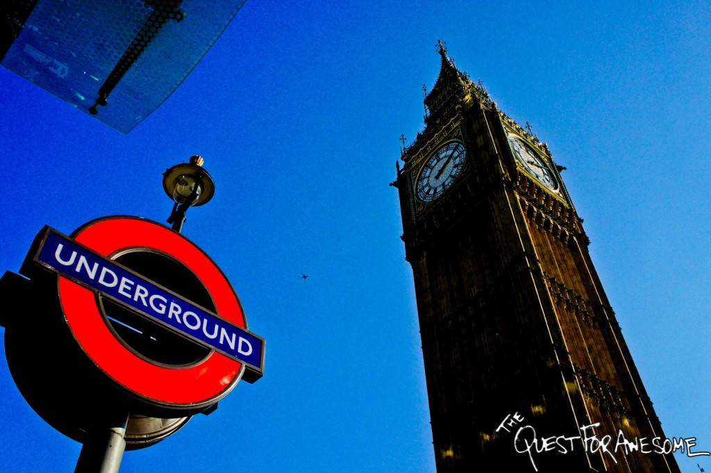 Underground and Big Ben