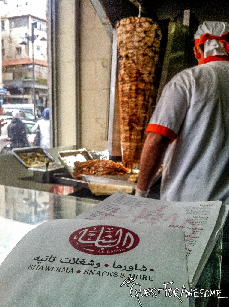 Shawarma in Amman Jordan