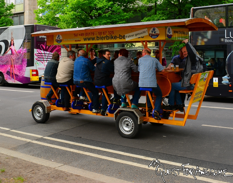 Berlin Beer Bike - The Quest For Awesome