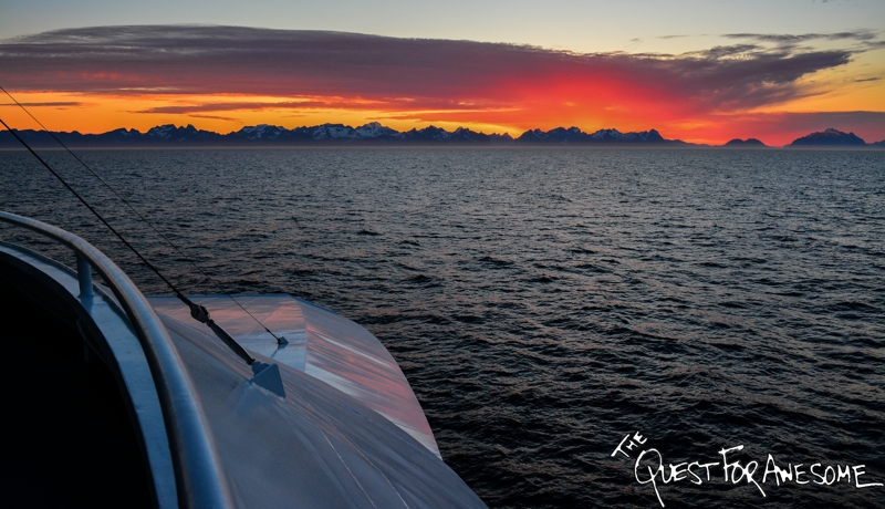 Ferry Ride From Bodo To Lofoten - The Quest For Awesome