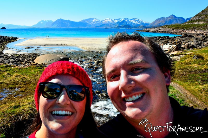 Emily And I In Lofoten Norway - The Quest For Awesome