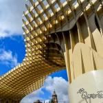 Mushroom Towers in Seville, Spain