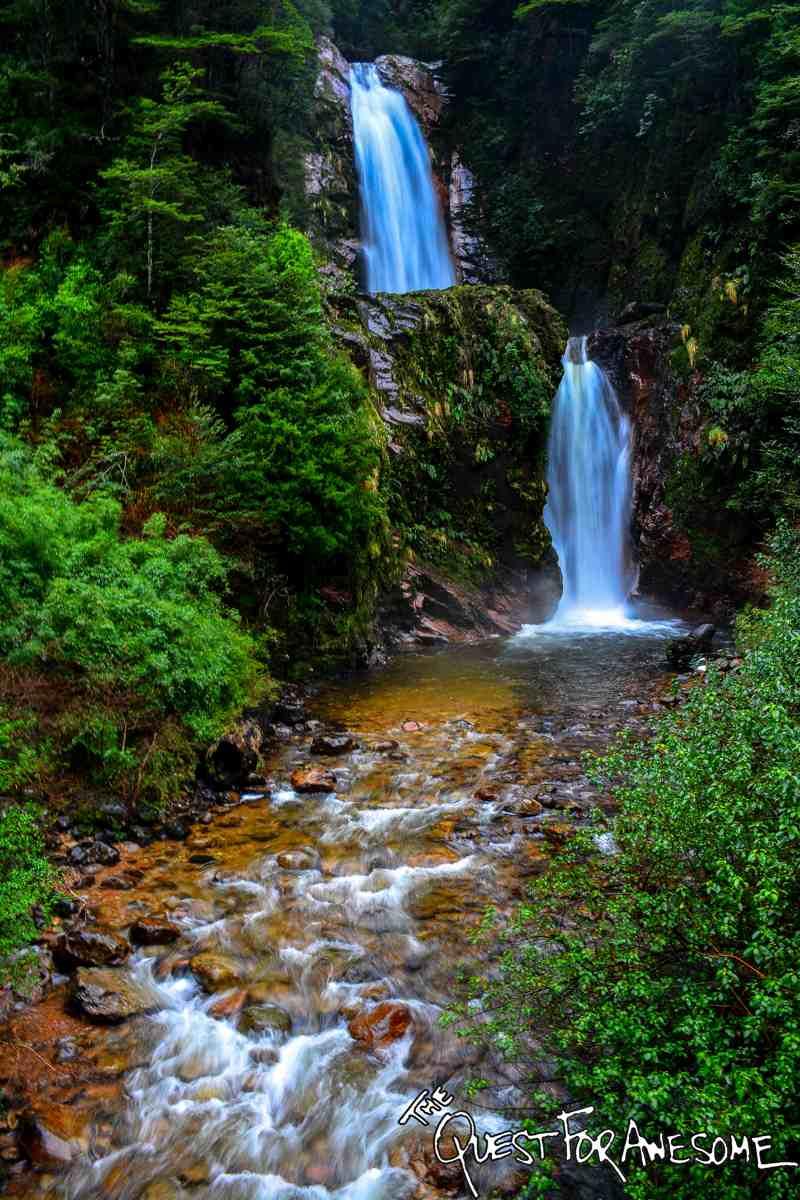 Cascada La Virgen - Aysen, Chile
