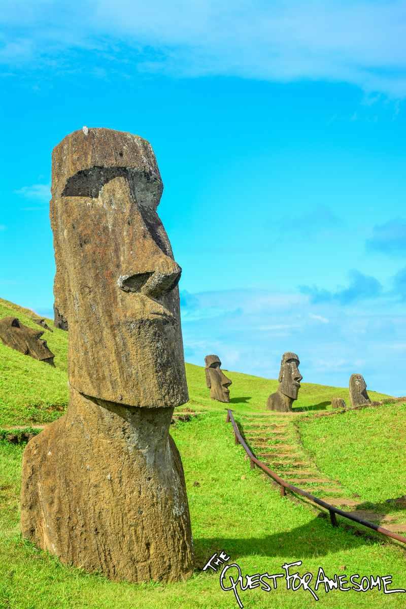 Moai of Rano Raraku