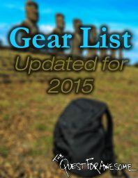 2015 Gear List Cover
