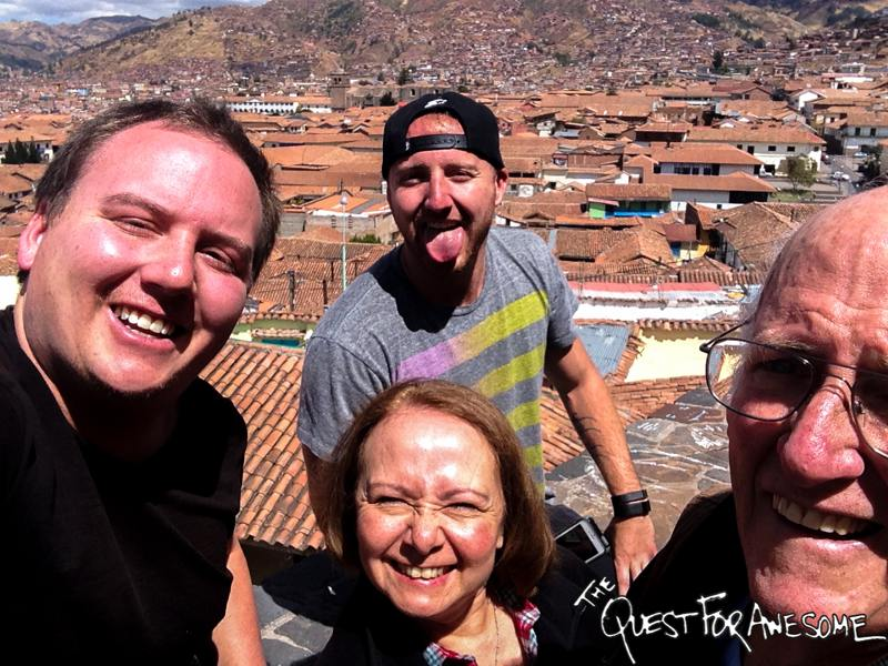 Exploring Cuzco With The Family