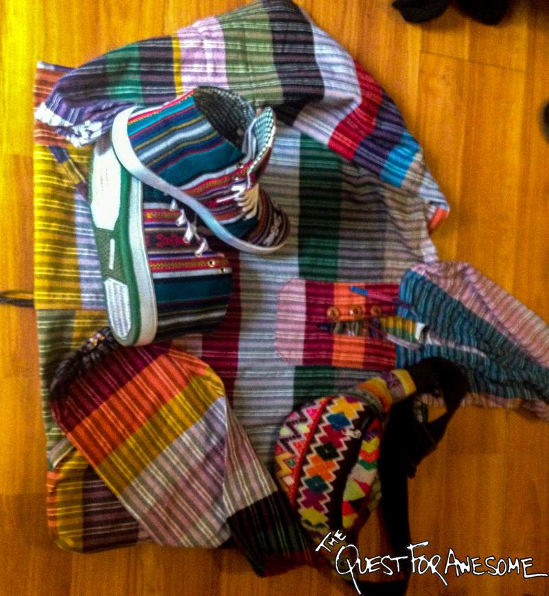 Colorful Peruvian Clothes