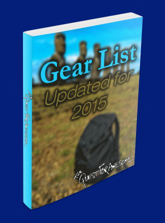 Gear List Guide Cover