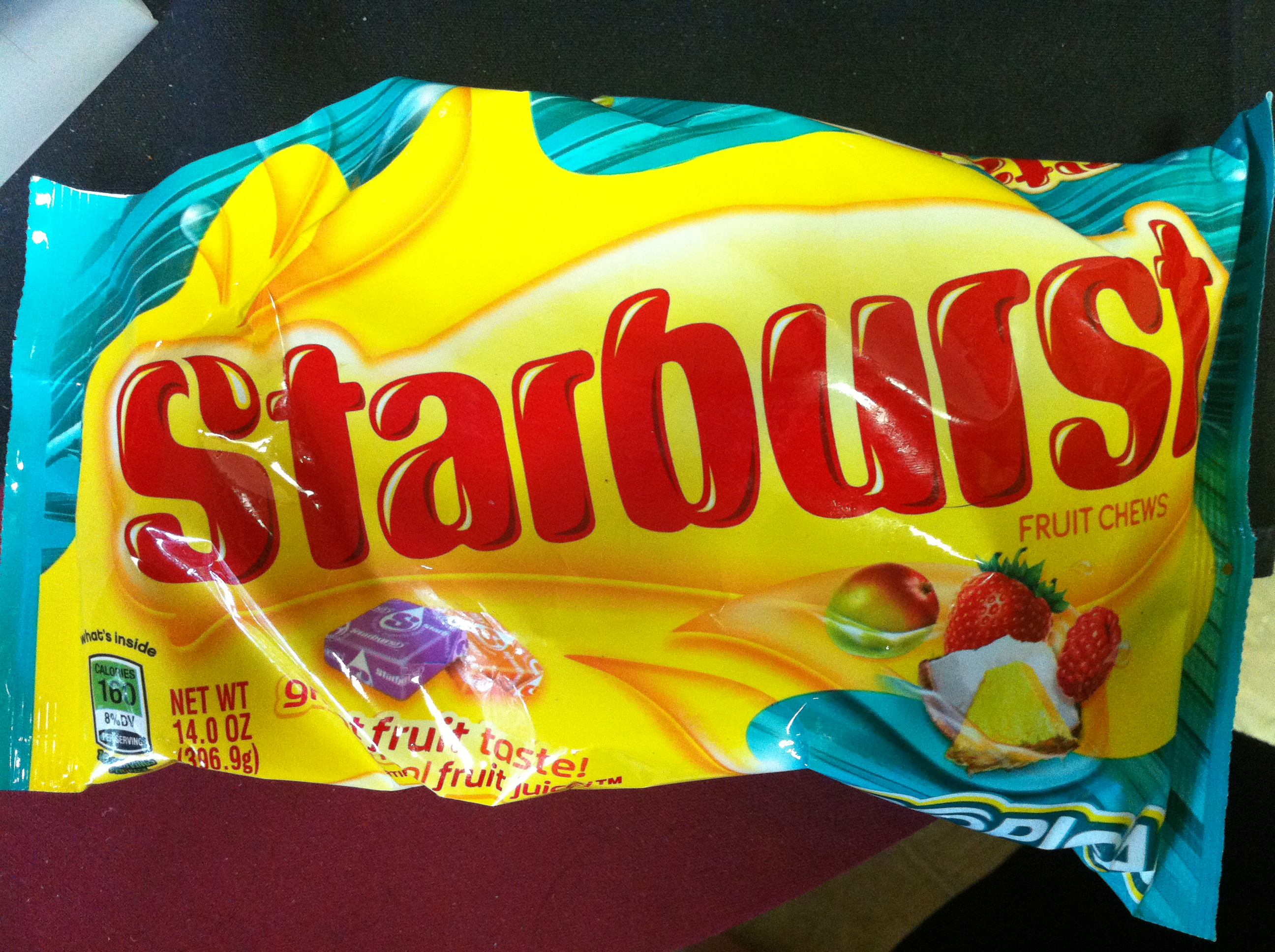 Large bag of Tropical Starbursts