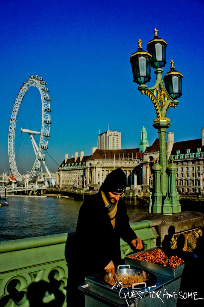 Bagpipes and the London Eye