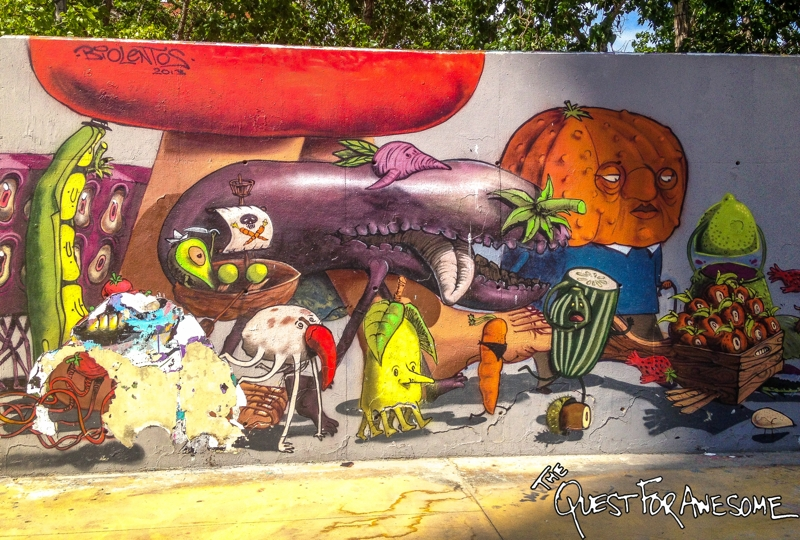 Barcelona Street Art - The Quest For Awesome