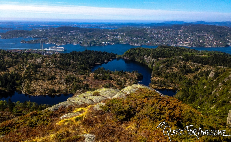 Bergen Norway Hike - The Quest For Awesome