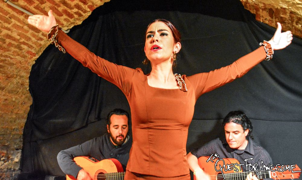 Flamenco in Madrid, Spain