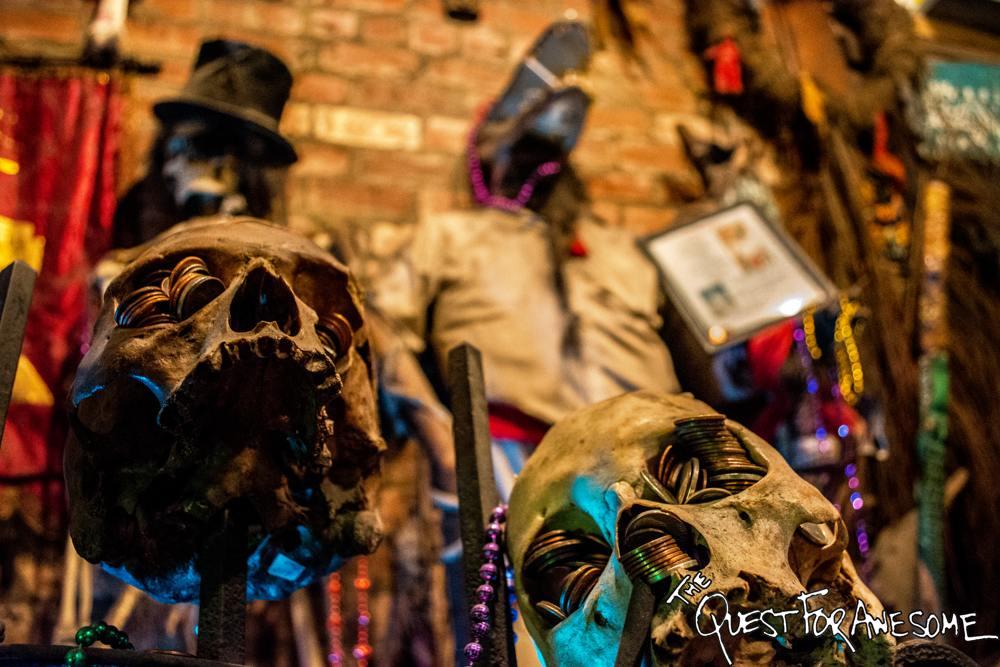 Voodoo Museum in NOLA