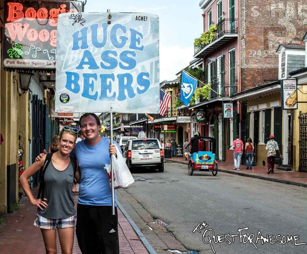 Huge Ass Beers on Bourbon Street