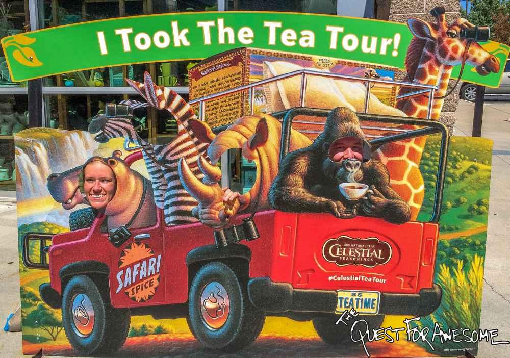 Celestial Seasonings Tea Tour