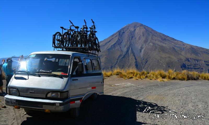 Mountain Biking Mount Chachani