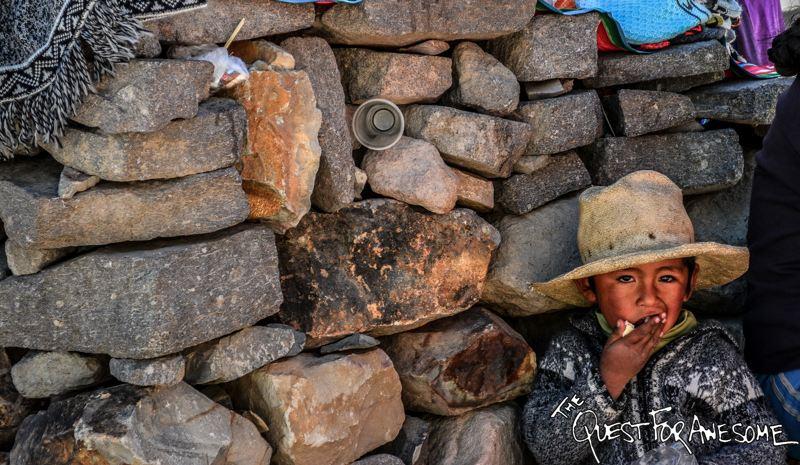 Young Boy In Colca Canyon, Peru