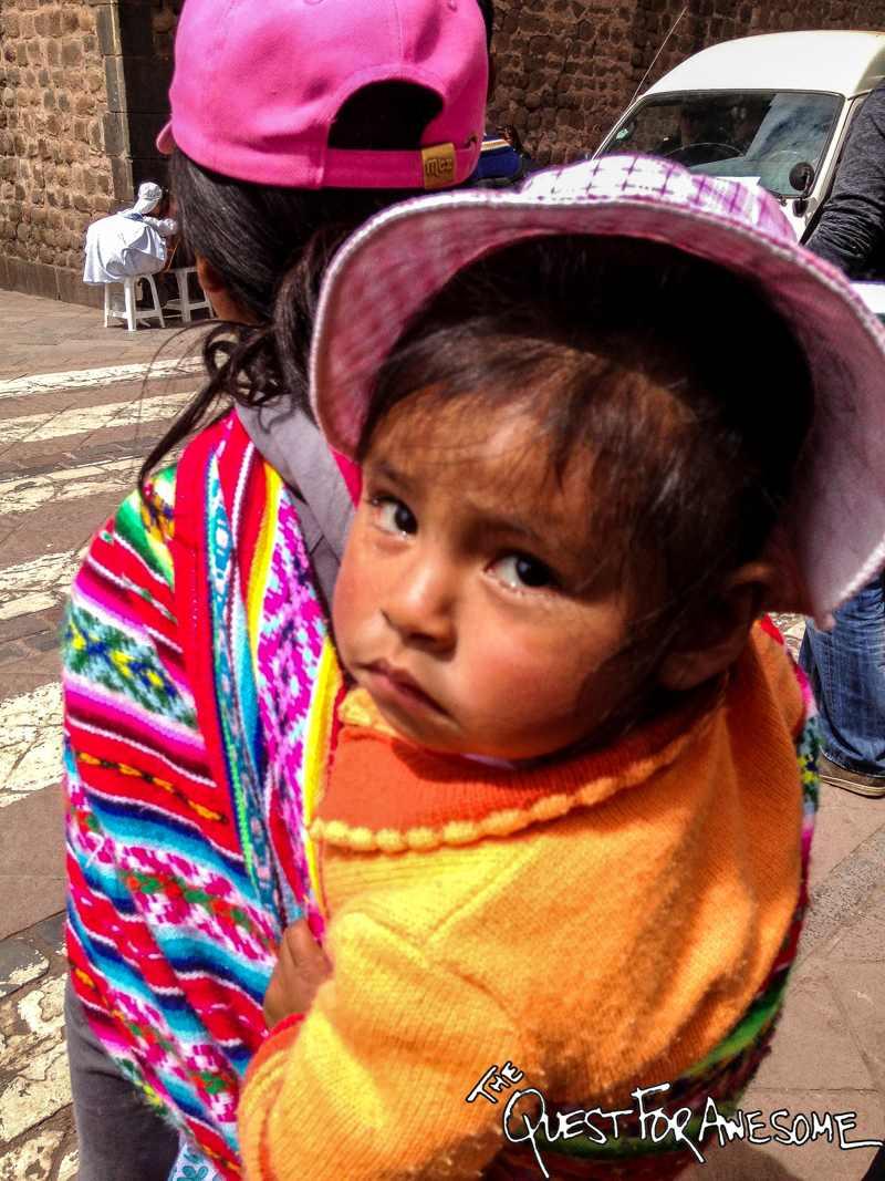 Child in Cuzco, Peru