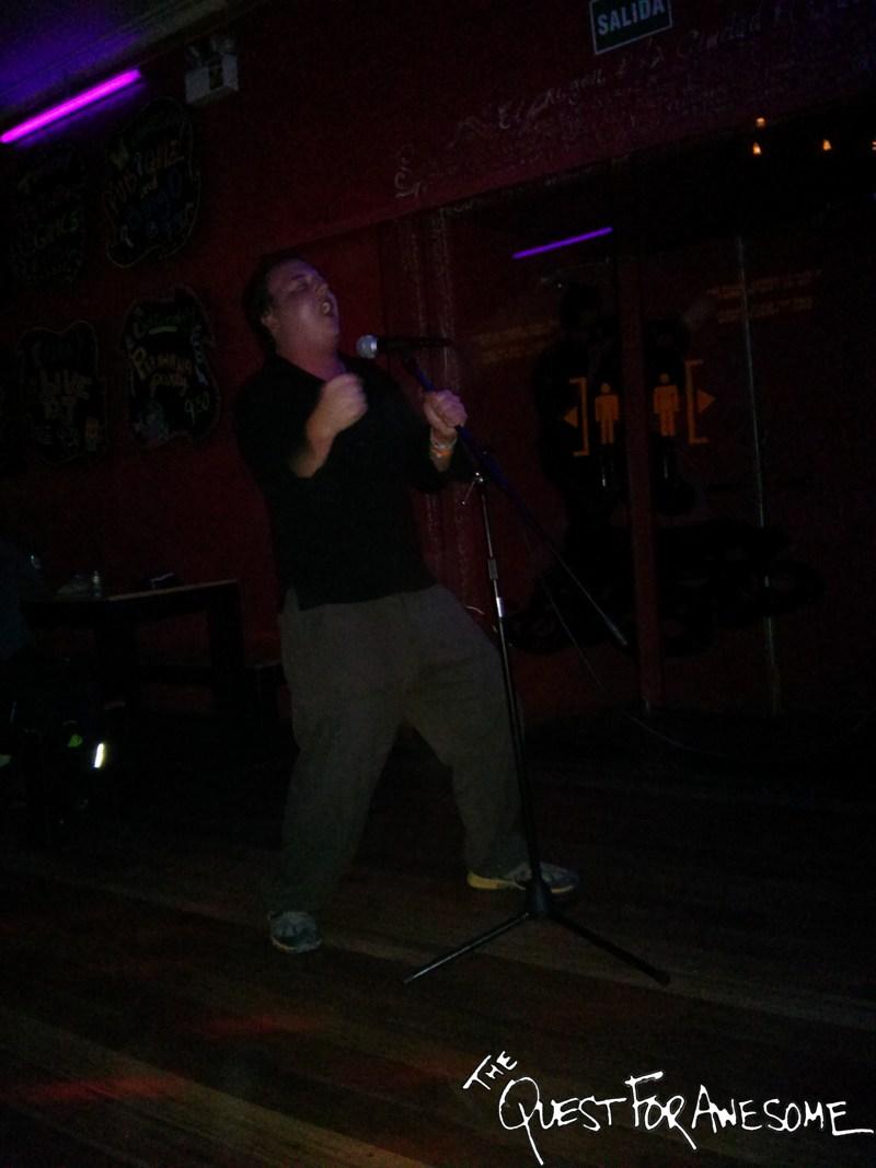 Karaoke in Cuzco, Peru