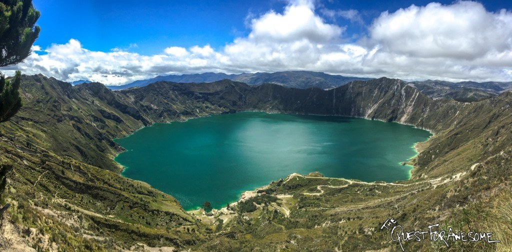 How Much Does it Cost to Travel the World 2016 Expenses Quilotoa Lake