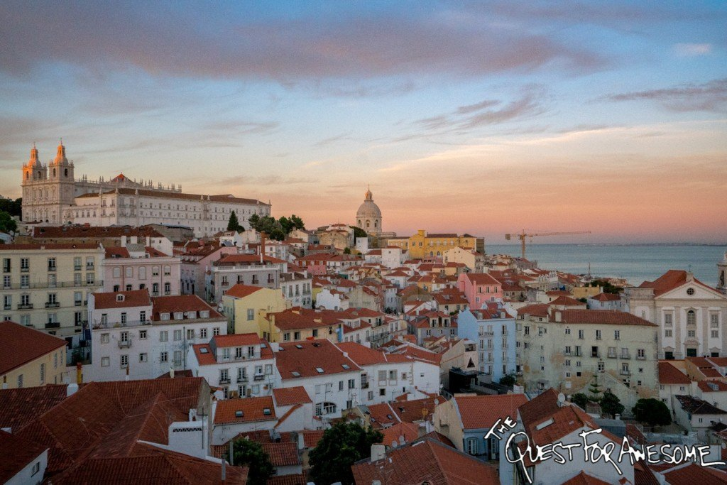 How Much Does it Cost to Travel The World 2016 Expenses Lisbon